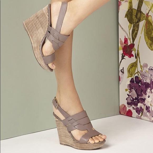 86fc17e3921d Sole Society Platform Wedge Sandals -Jenny. M 5c781cef03087c7ce2f3c9c1